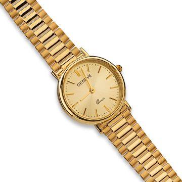 Ceas din aur cu display rotund