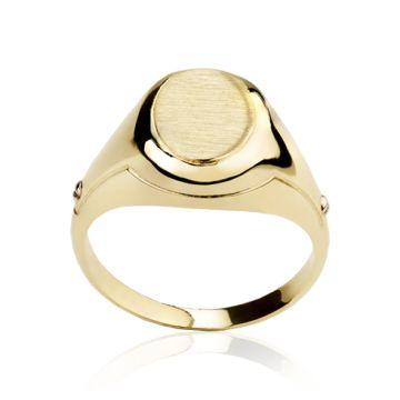 Inel din aur galben pentru barbati