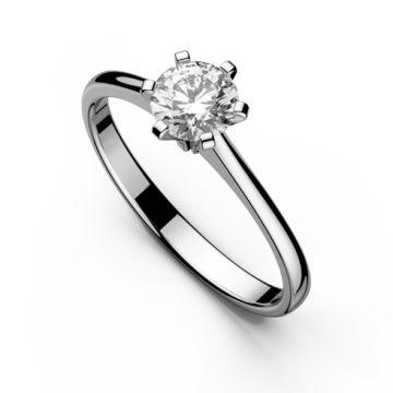 Inel de logodna cu diamant DR051