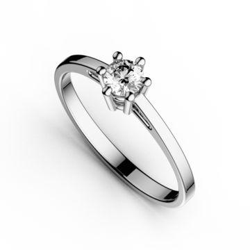 Inel de logodna cu diamant DR129