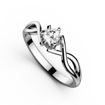 Inel de logodna cu diamant DR153