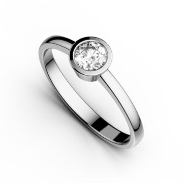 Inel de logodna cu diamant DR157