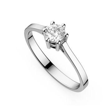 Inel de logodna cu diamant DR208