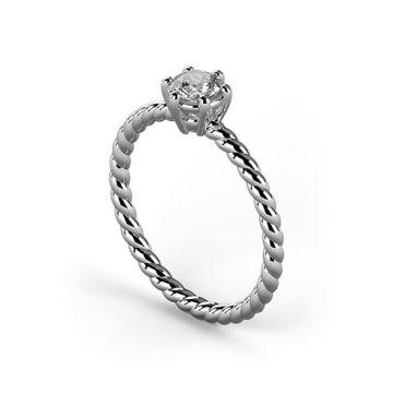 Inel de logodna cu diamant DR319A