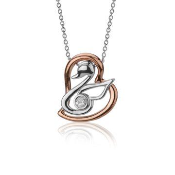 Colier Pregnancy din aur cu diamant