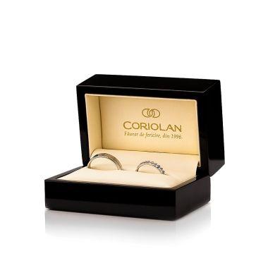 Cutie de lux Coriolan pentru verighete